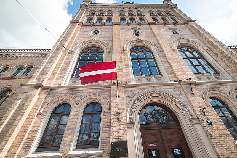 Contribution to rise of Fatherland and the University of Latvia